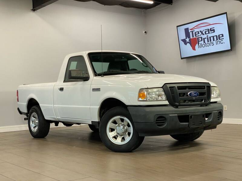 2011 Ford Ranger for sale at Texas Prime Motors in Houston TX