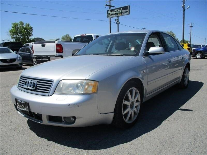 2004 Audi A6 for sale at Central Auto in South Salt Lake UT