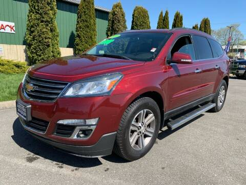 2016 Chevrolet Traverse for sale at AUTOTRACK INC in Mount Vernon WA