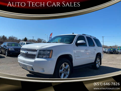 2007 Chevrolet Tahoe for sale at Auto Tech Car Sales in Saint Paul MN