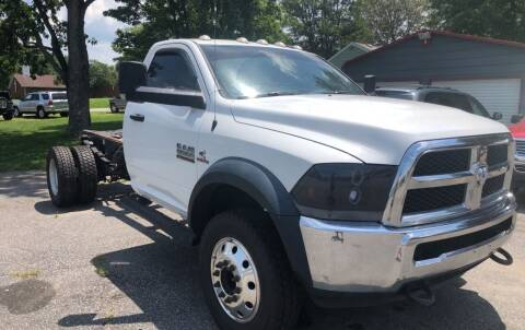 2014 RAM Ram Chassis 5500 for sale at Creekside Automotive in Lexington NC