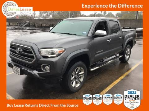 2017 Toyota Tacoma for sale at Dallas Auto Finance in Dallas TX