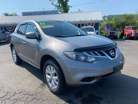 2011 Nissan Murano for sale at HACKETT & SONS LLC in Nelson PA