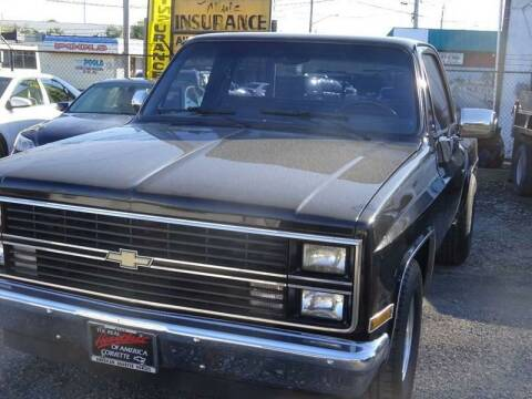 1984 Chevrolet C/K 10 Series for sale at QUALITY AUTO SALES OF NEW YORK in Medford NY