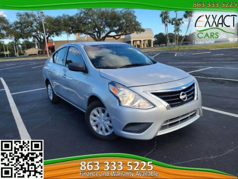 2015 Nissan Versa for sale at Exxact Cars in Lakeland FL