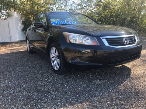2008 Honda Accord for sale at DRIVE ZONE AUTOS in Montgomery AL