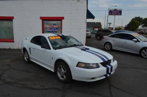 2002 Ford Mustang for sale at CARGILL U DRIVE USED CARS in Twin Falls ID