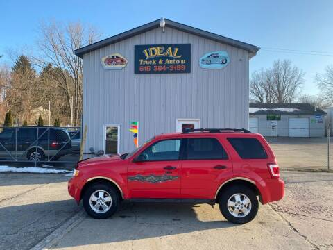 2011 Ford Escape for sale at IDEAL TRUCK & AUTO LLC in Coopersville MI