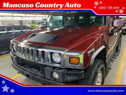 2003 HUMMER H2 for sale at Mancuso Country Auto in Batavia NY