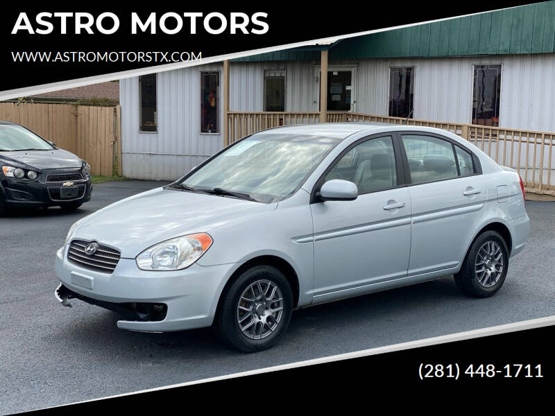 2011 Hyundai Accent for sale at ASTRO MOTORS in Houston TX