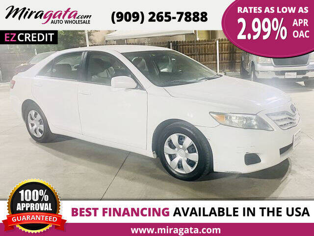 2010 Toyota Camry for sale at Miragata Auto in Bloomington CA