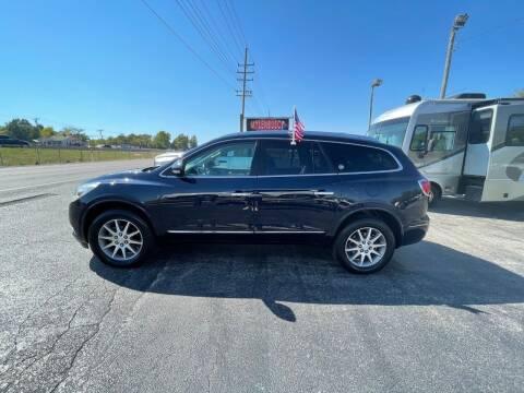 2017 Buick Enclave for sale at MYLENBUSCH AUTO SOURCE in O'Fallon MO