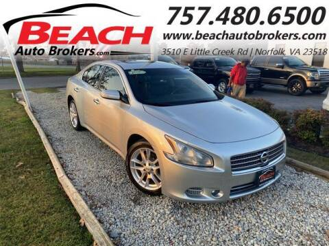 2011 Nissan Maxima for sale at Beach Auto Brokers in Norfolk VA