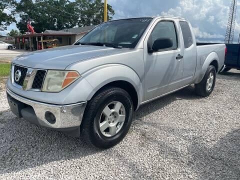2005 Nissan Frontier for sale at Bayou Motors Inc in Houma LA