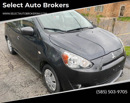 2014 Mitsubishi Mirage for sale at Select Auto Brokers in Webster NY