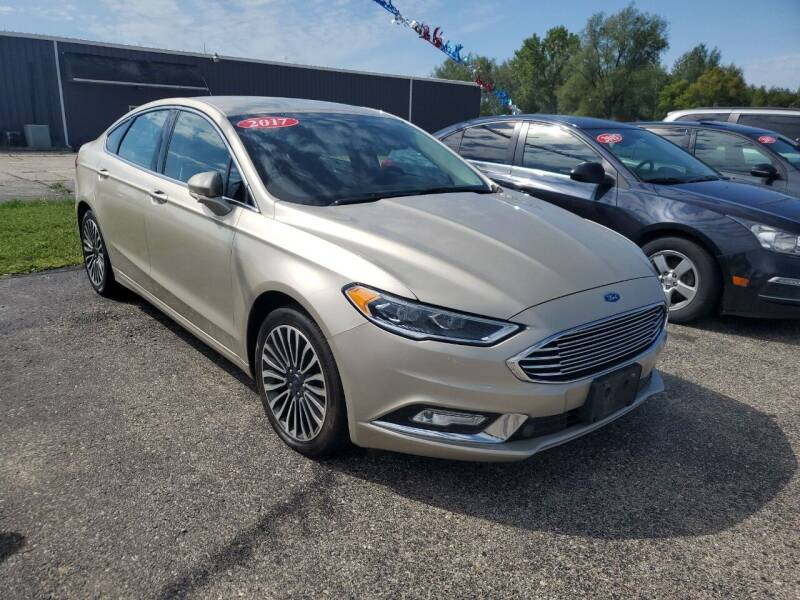 2017 Ford Fusion for sale at Paris Auto Sales & Service in Big Rapids MI