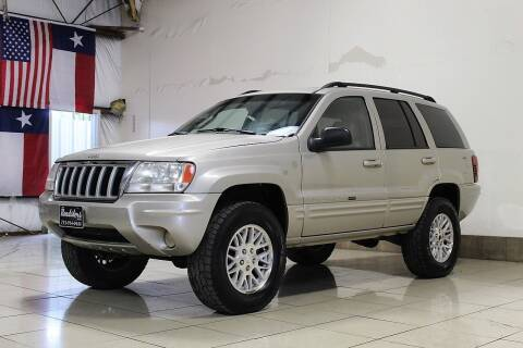 2004 Jeep Grand Cherokee for sale at ROADSTERS AUTO in Houston TX