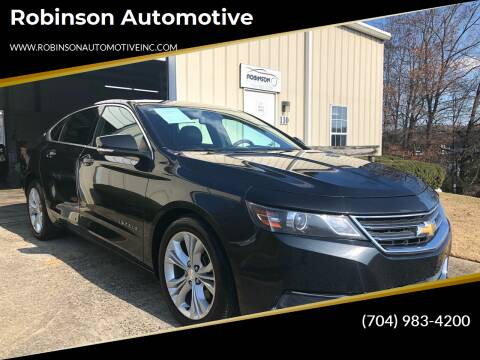 2014 Chevrolet Impala for sale at Robinson Automotive in Albermarle NC