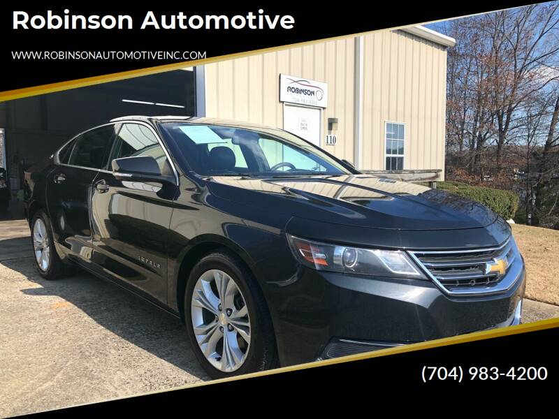 2014 Chevrolet Impala for sale at Robinson Automotive in Albemarle NC