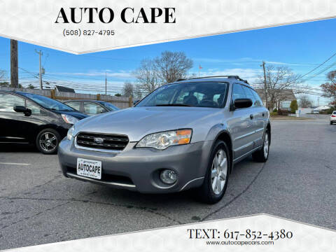 2006 Subaru Outback for sale at Auto Cape in Hyannis MA