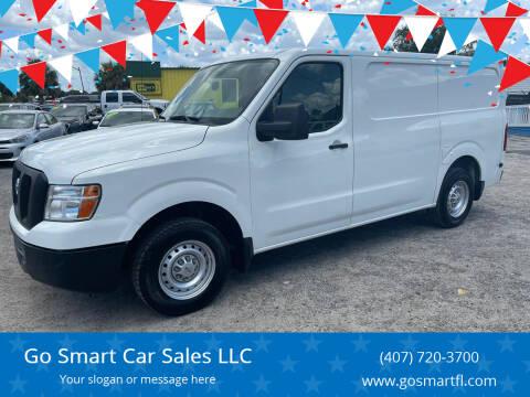 2017 Nissan NV Cargo for sale at Go Smart Car Sales LLC in Winter Garden FL