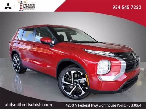 2022 Mitsubishi Outlander for sale at PHIL SMITH AUTOMOTIVE GROUP - Phil Smith Kia in Lighthouse Point FL