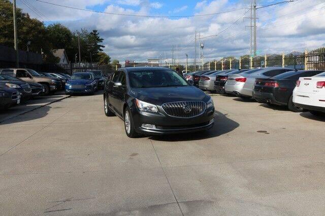 2016 Buick LaCrosse for sale at F & M AUTO SALES in Detroit MI