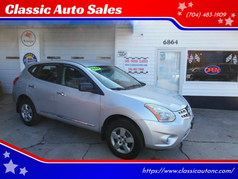 2011 Nissan Rogue for sale at Classic Auto Sales in Maiden NC