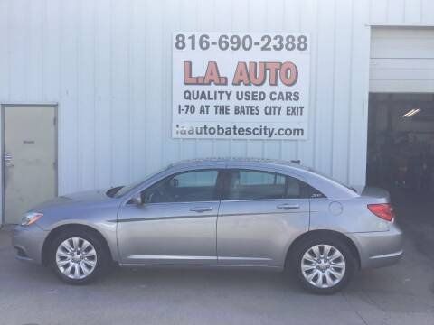 2013 Chrysler 200 for sale at LA AUTO in Bates City MO