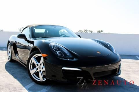 2015 Porsche Boxster for sale at Zen Auto Sales in Sacramento CA