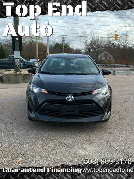 2017 Toyota Corolla for sale at Top End Auto in North Atteboro MA