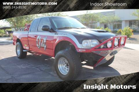 1998 Ford F-150 for sale at Insight Motors in Tempe AZ