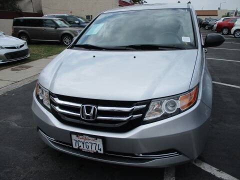 2014 Honda Odyssey for sale at F & A Car Sales Inc in Ontario CA