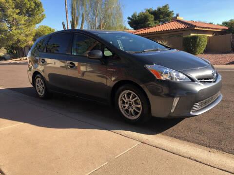 2012 Toyota Prius v for sale at Arizona Hybrid Cars in Scottsdale AZ