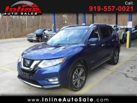 2017 Nissan Rogue Hybrid for sale at Inline Auto Sales in Fuquay Varina NC