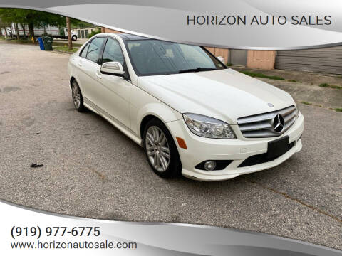 2008 Mercedes-Benz C-Class for sale at Horizon Auto Sales in Raleigh NC