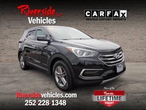 2017 Hyundai Santa Fe Sport for sale at Riverside Mitsubishi(New Bern Auto Mart) in New Bern NC