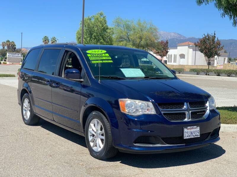 2014 Dodge Grand Caravan for sale at Esquivel Auto Depot in Rialto CA