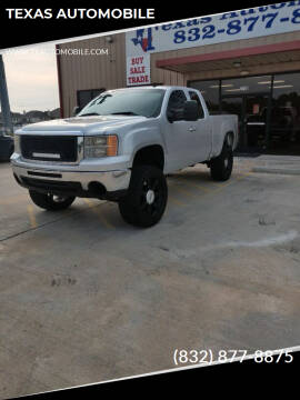 2012 GMC Sierra 1500 for sale at TEXAS AUTOMOBILE in Houston TX
