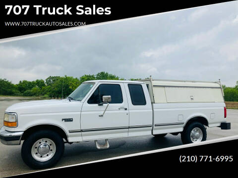1996 Ford F-250 for sale at 707 Truck Sales in San Antonio TX