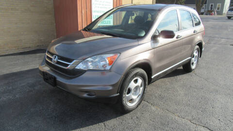 2010 Honda CR-V for sale at LENTZ USED VEHICLES INC in Waldo WI