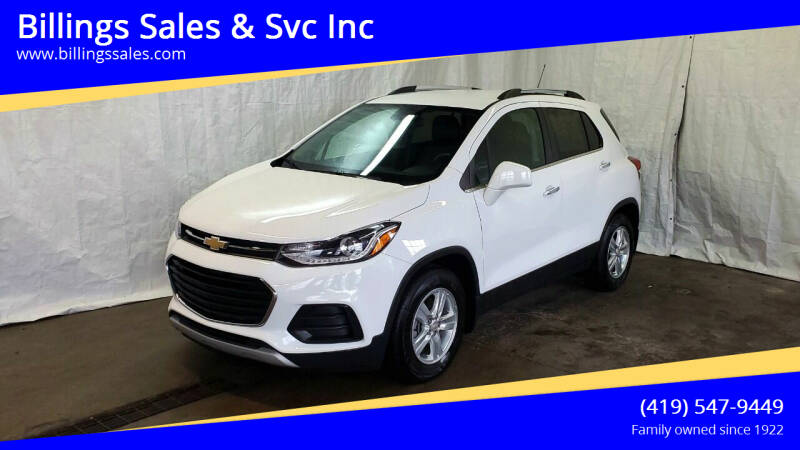 2018 Chevrolet Trax for sale at Billings Sales & Svc Inc in Clyde OH
