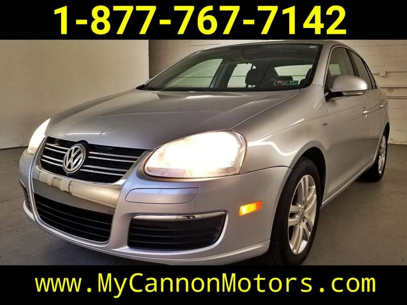 2007 Volkswagen Jetta for sale at Cannon Motors in Silverdale PA