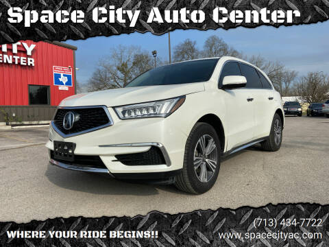 2017 Acura MDX for sale at Space City Auto Center in Houston TX