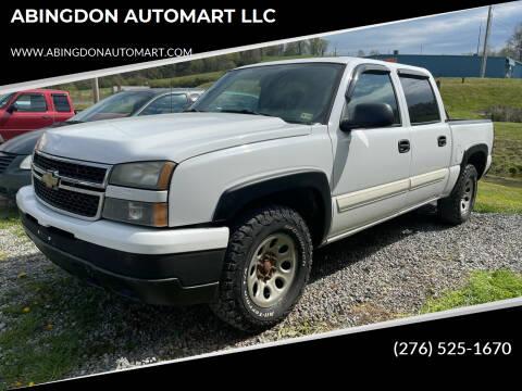 2006 Chevrolet Silverado 1500 for sale at ABINGDON AUTOMART LLC in Abingdon VA