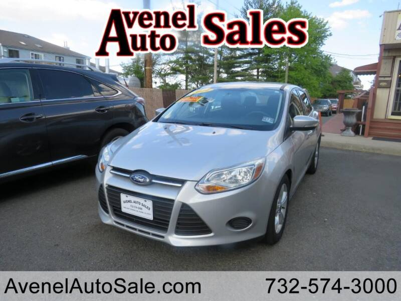 2014 Ford Focus for sale at Avenel Auto Sales in Avenel NJ