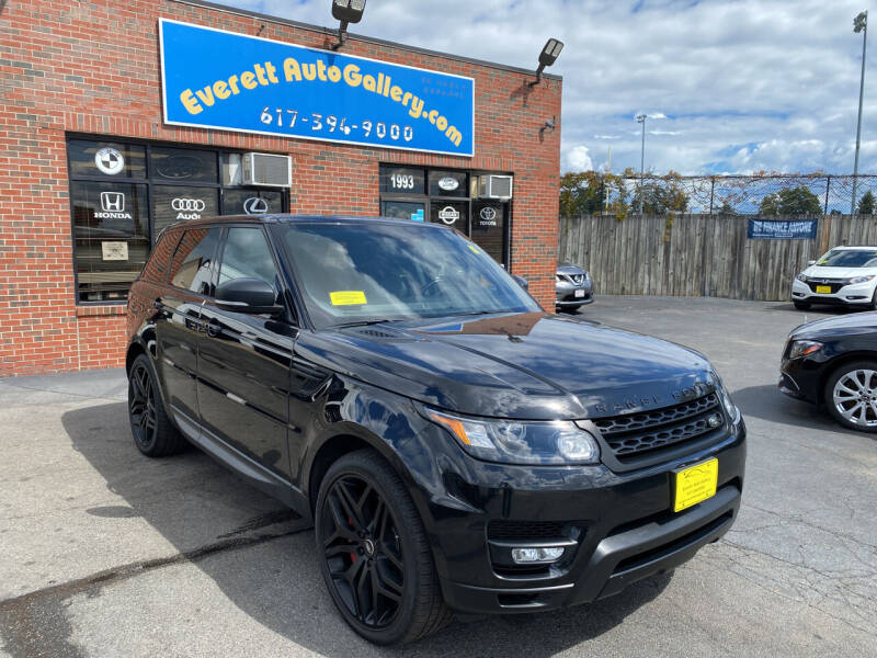 2015 Land Rover Range Rover Sport for sale at Everett Auto Gallery in Everett MA