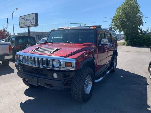 2005 HUMMER H2 for sale at ALASKA PROFESSIONAL AUTO in Anchorage AK