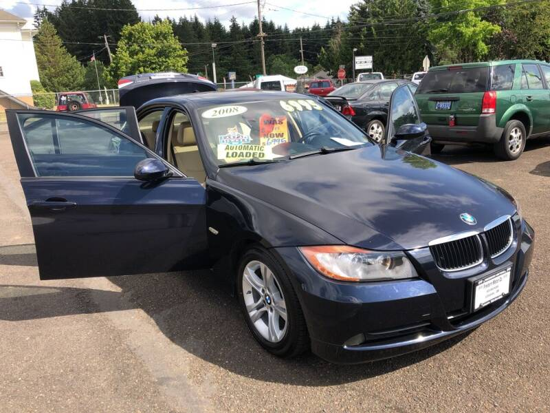 2008 BMW 3 Series for sale at Freeborn Motors in Lafayette, OR