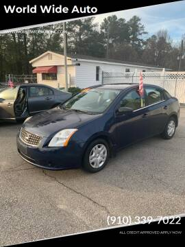 2007 Nissan Sentra for sale at World Wide Auto in Fayetteville NC